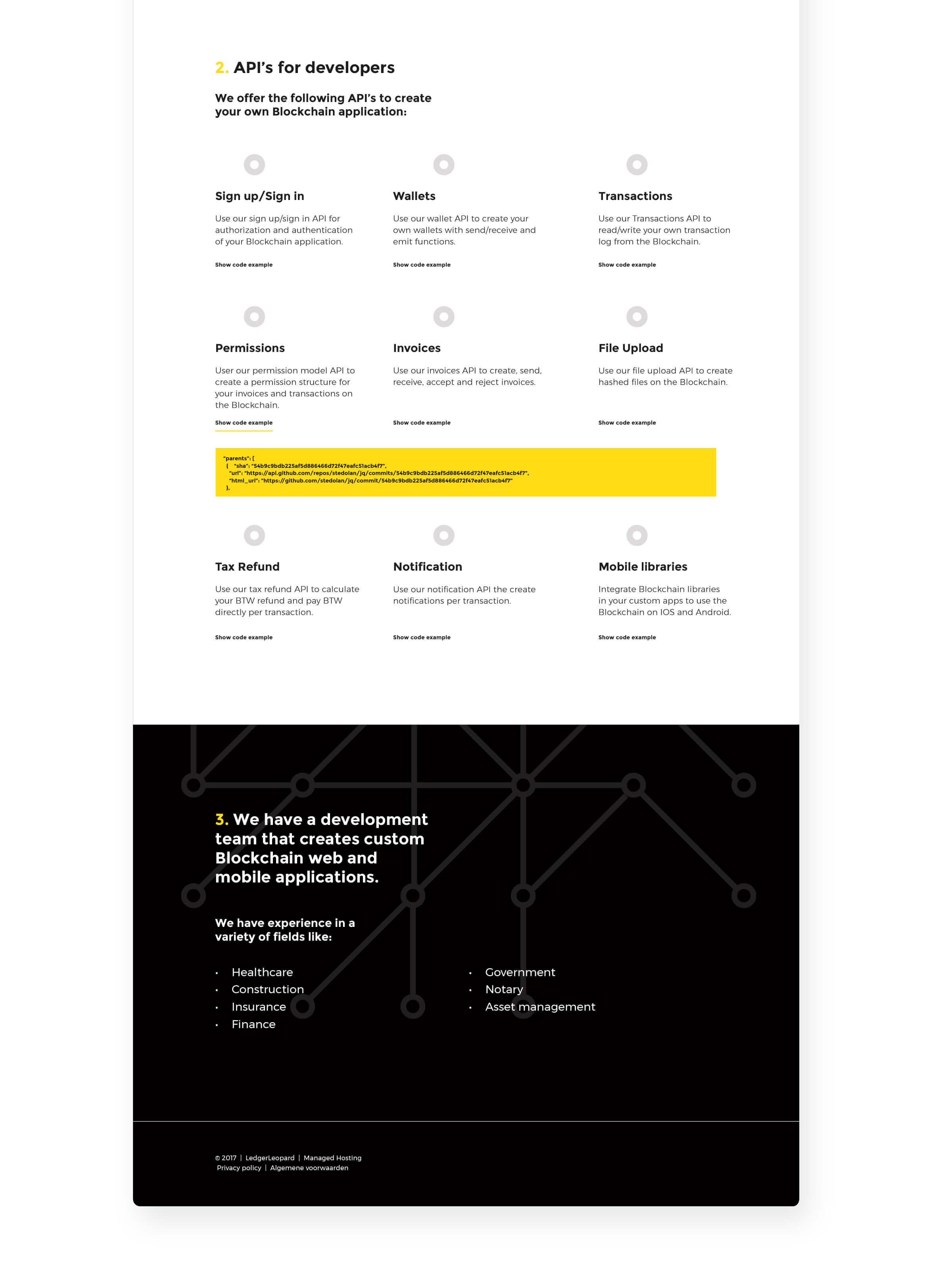 Hello Machacas designed Ledger Leopard Identity and website